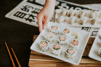 p.f. changes, free sushi day