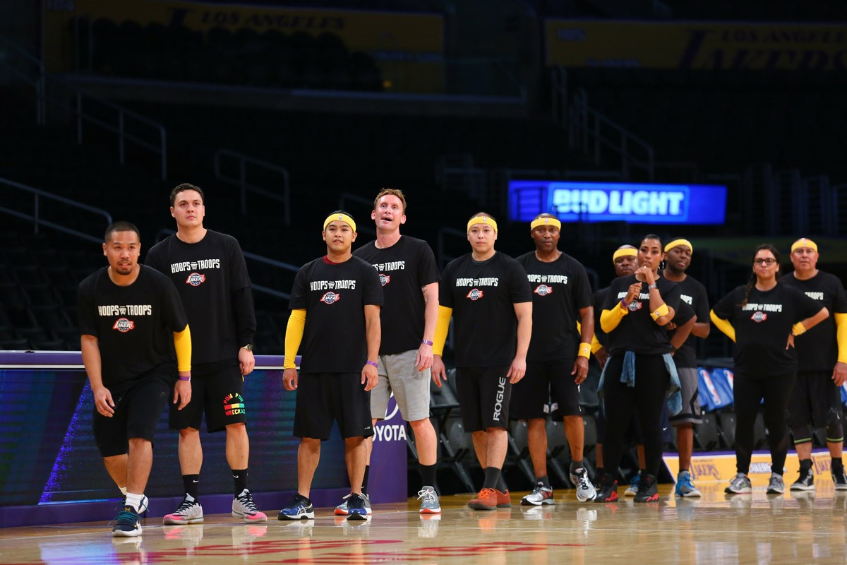 lakers, us military