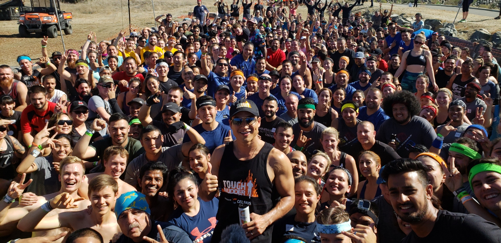 tough Mudder, mario Lopez