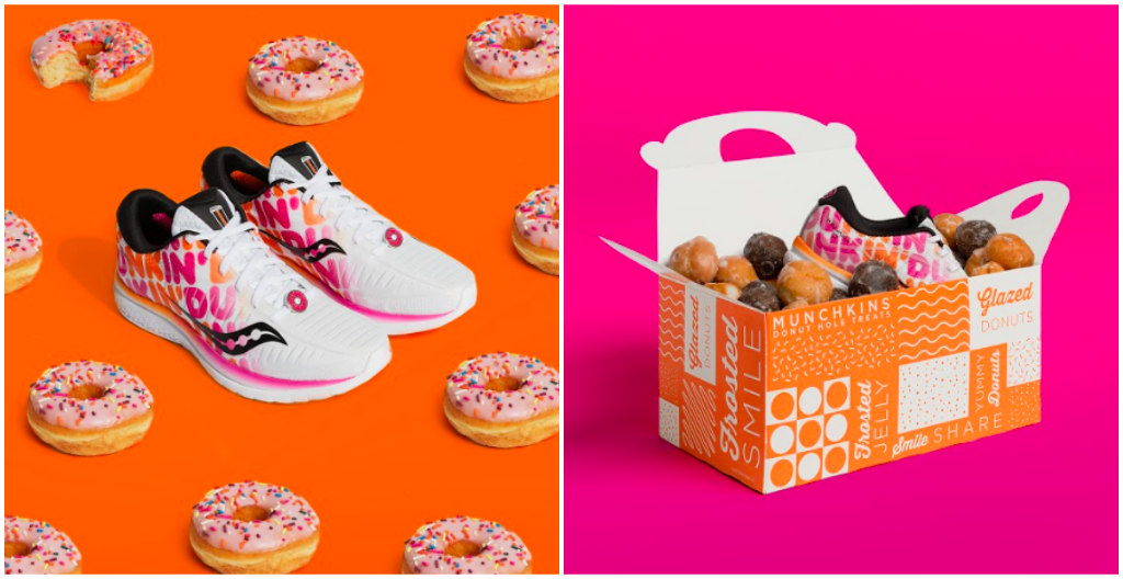 saucony, dunkin donuts