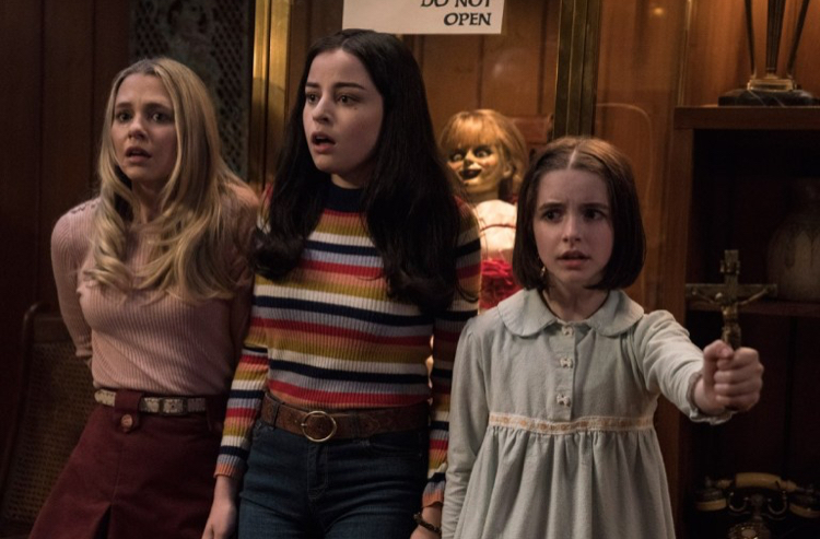 Annabelle Comes Home, film review, Lucas Mirabella