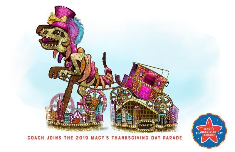 coach, Macy's Thanksgiving Day Parade