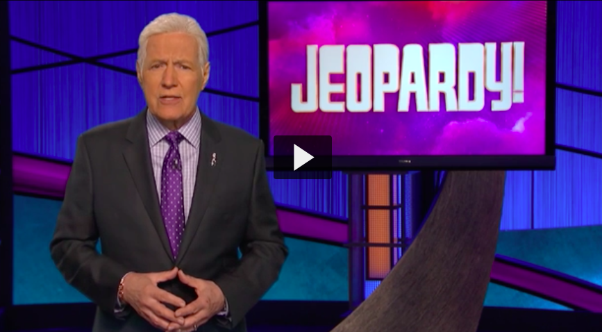 alex trebek world pancreatic cancer day