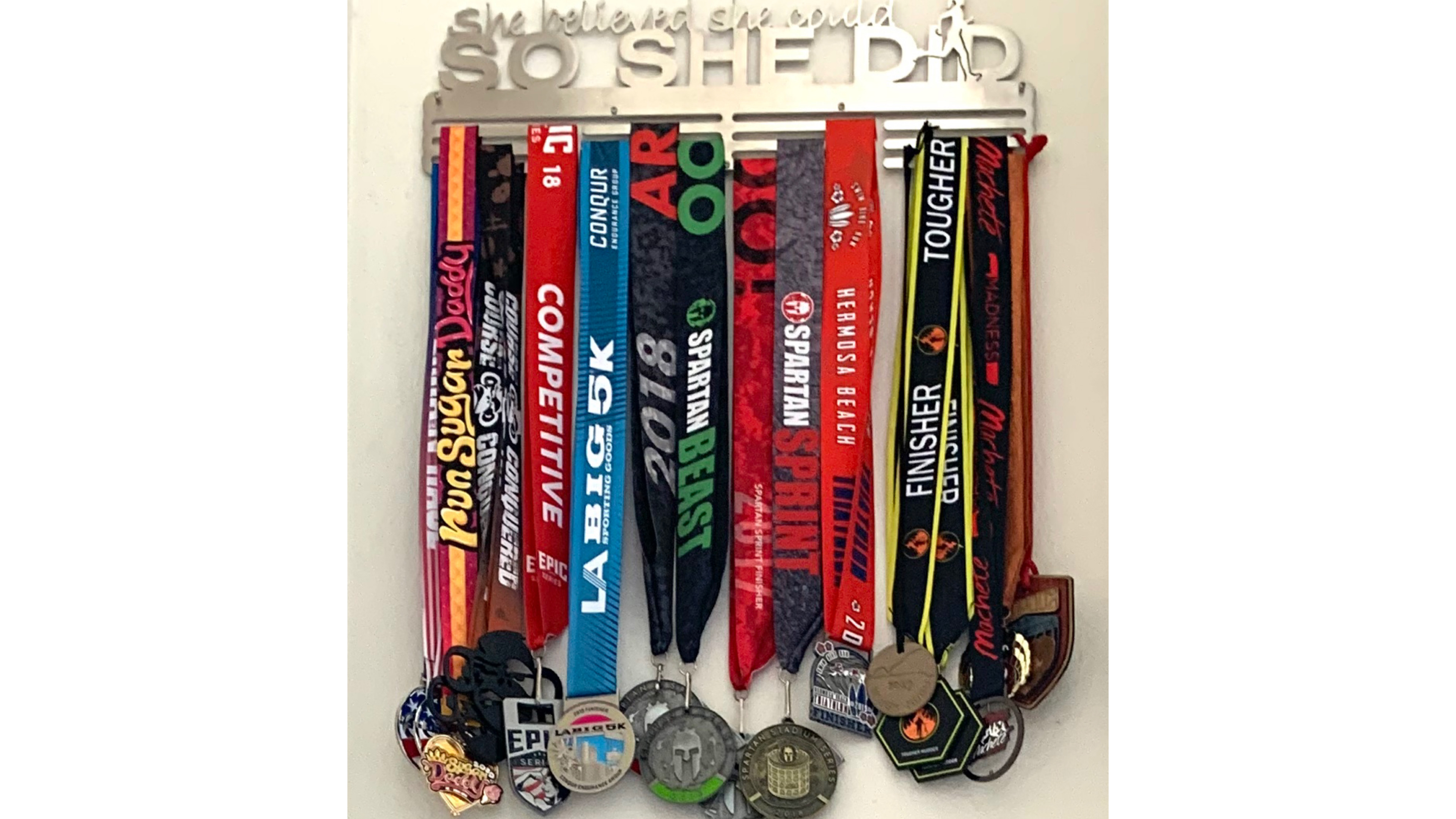 spartan race, tough mudder, allied medal hangers