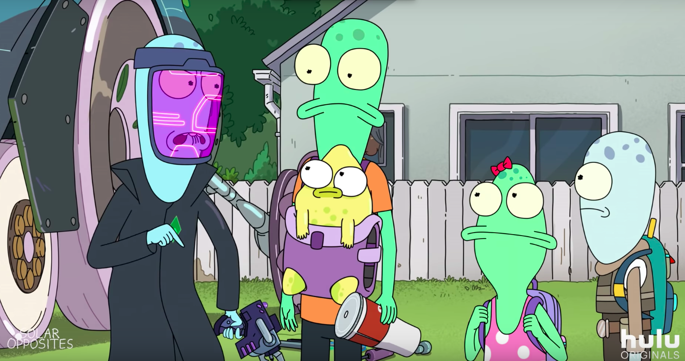 solar opposites, hulu, justin roiland, rick and morty