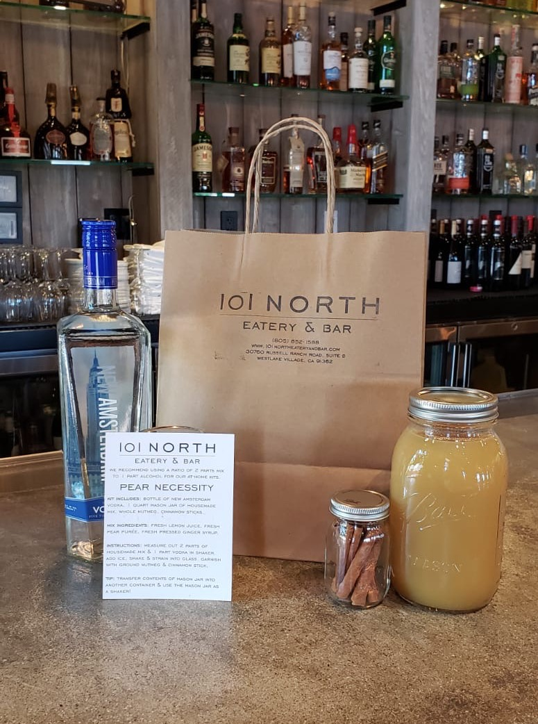 la 101 north eatery & bar, coronavirus, cocktail kit