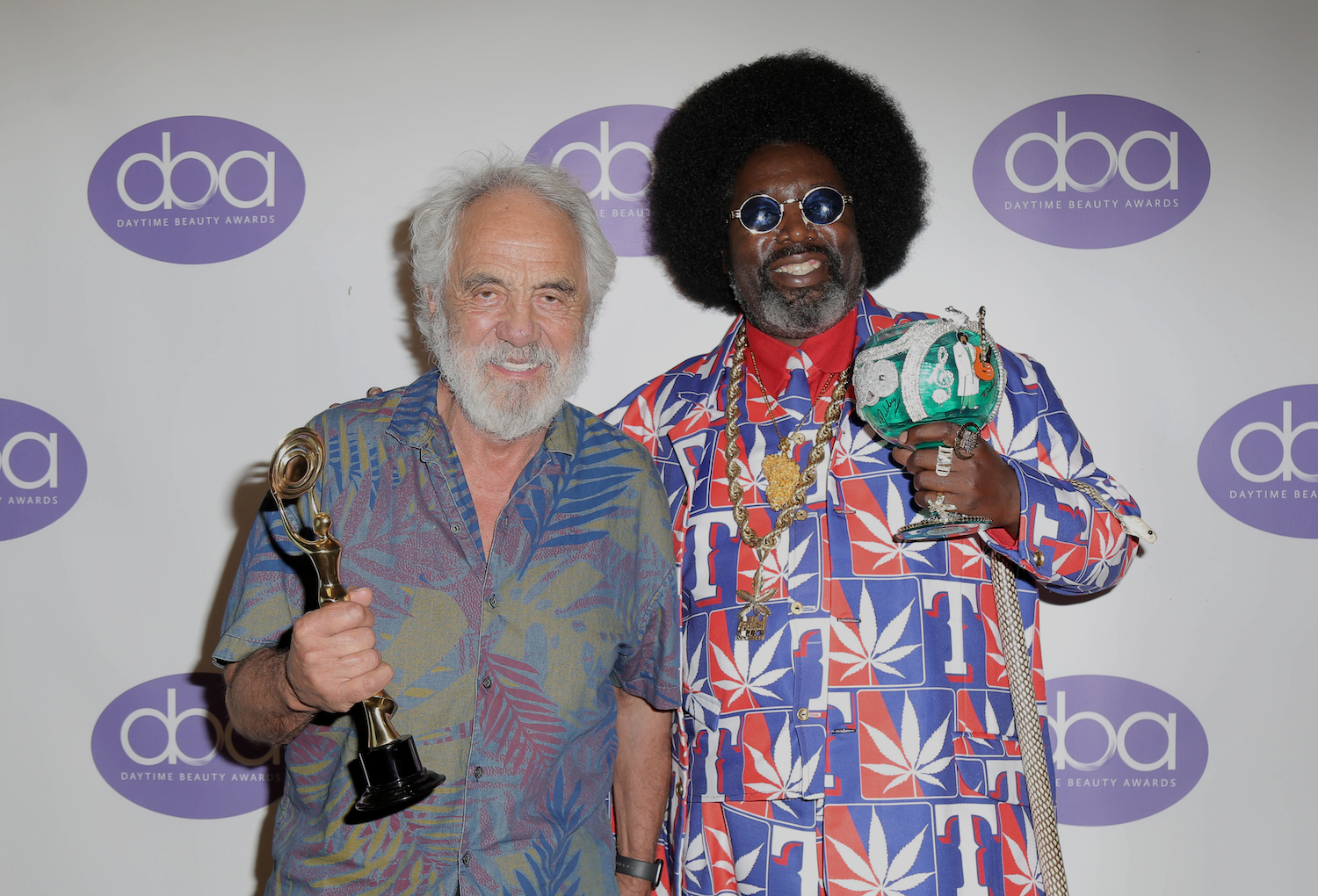 daytime beauty awards, tommy chong, five point holdings, afroman