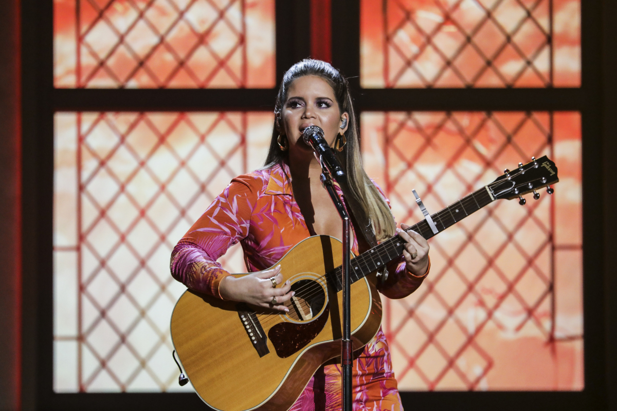 maren morris, acm, 2020, academy of country music awards