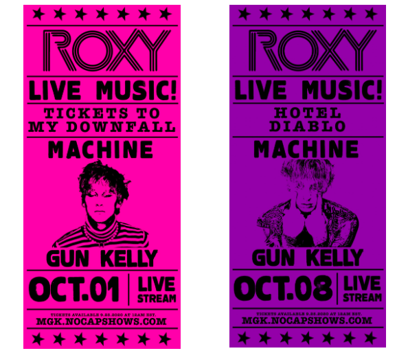 machine gun kelly, roxy, concert