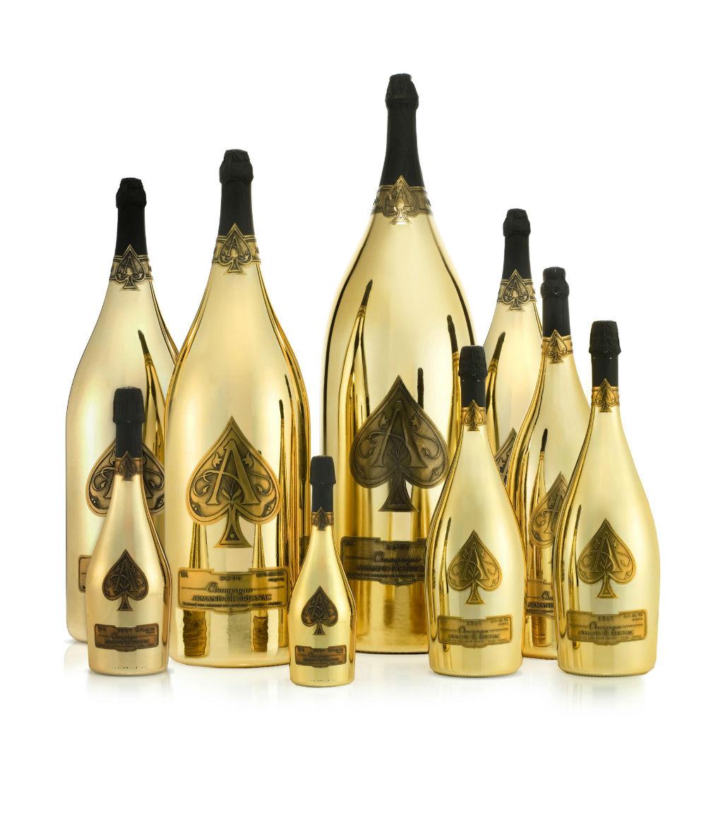armand de brignac launches rare brut gold champagne collection latf usa