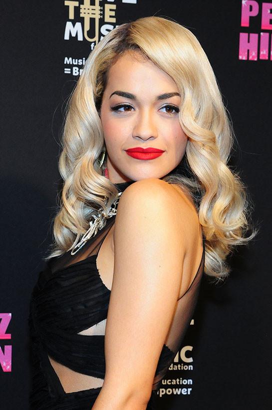 Rita Ora Becomes An Official Material Girl | LATF USA