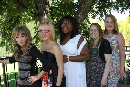 angel faces retreat builds confidence in young women latf usa