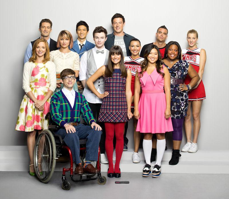 Dating Glee cast