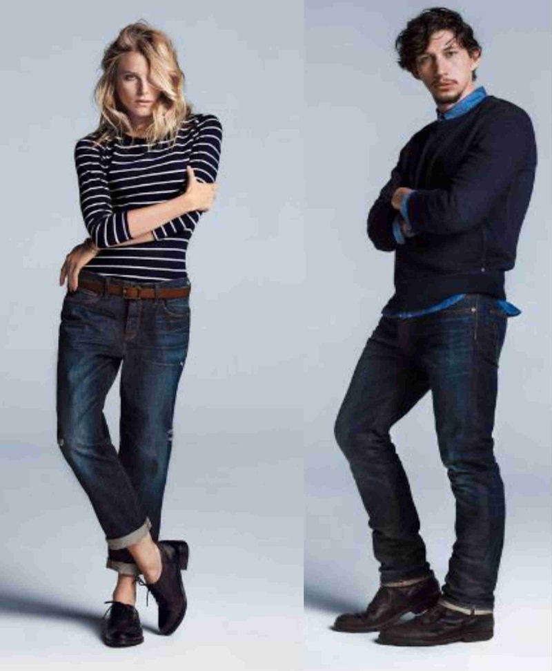 Gap gets back to denim this fall latf usa for Gap usa t shirt