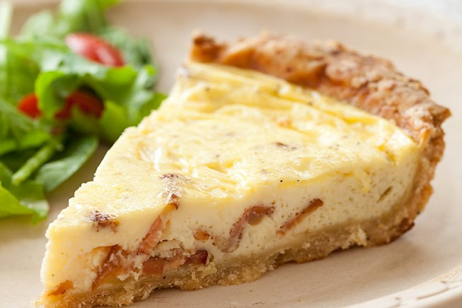 Recipe quiche lorraine is as easy as 1 2 3 latf usa quiche lorraine forumfinder Image collections