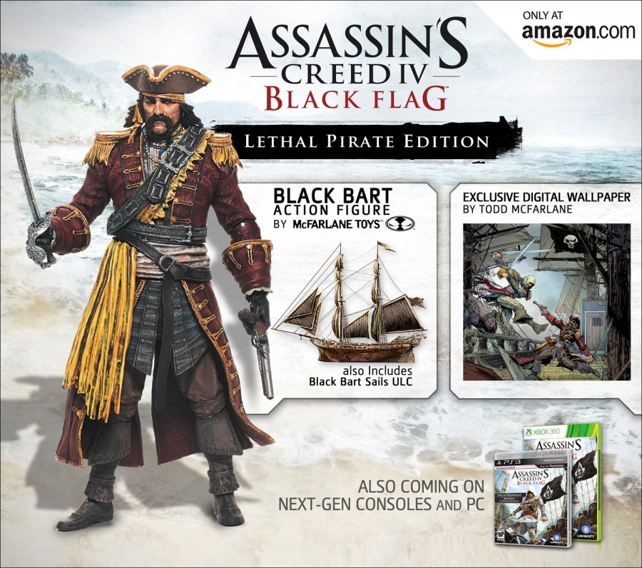 Amazon Exclusive Assassin S Creed Iv Black Flag Lethal Pirate
