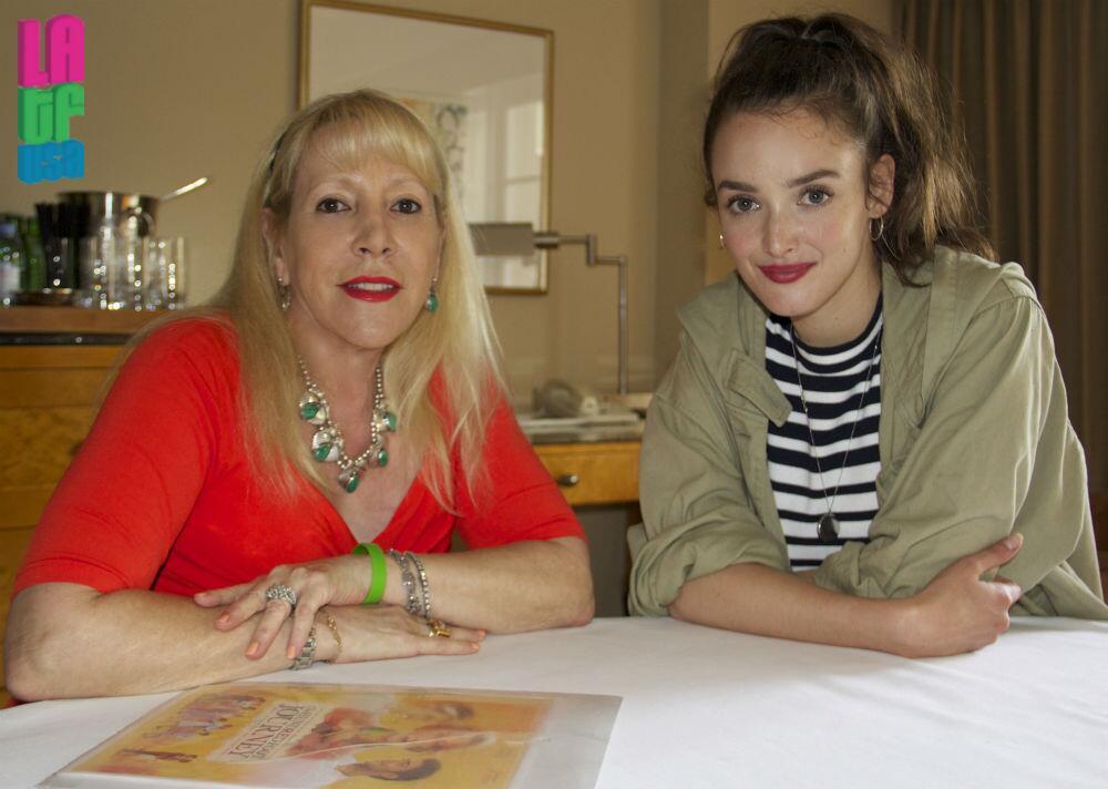 Latf Publisher Michele Elyzabeth With Charlotte Le Bon Issue 44