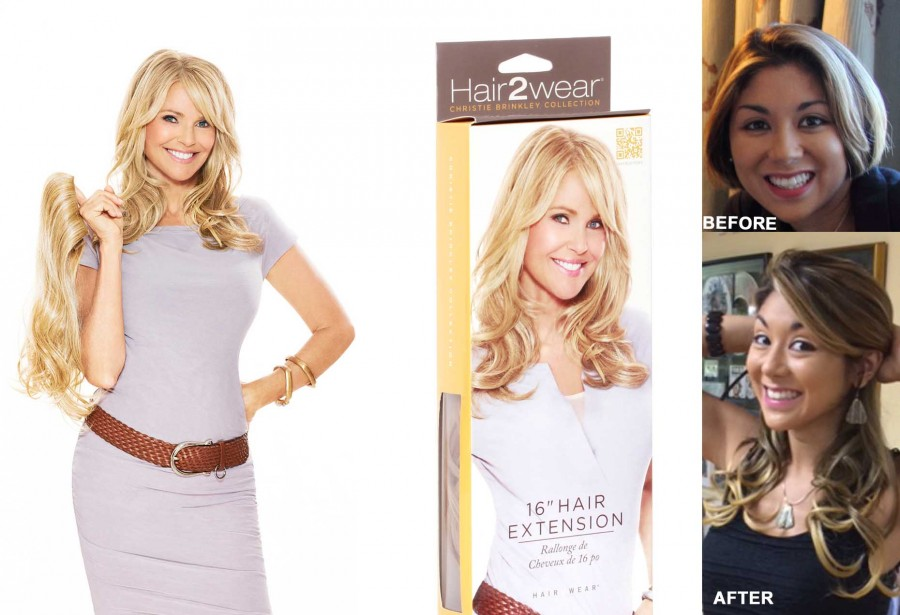 Going The Length With Christie Brinkleys Hair2wear Latf Usa