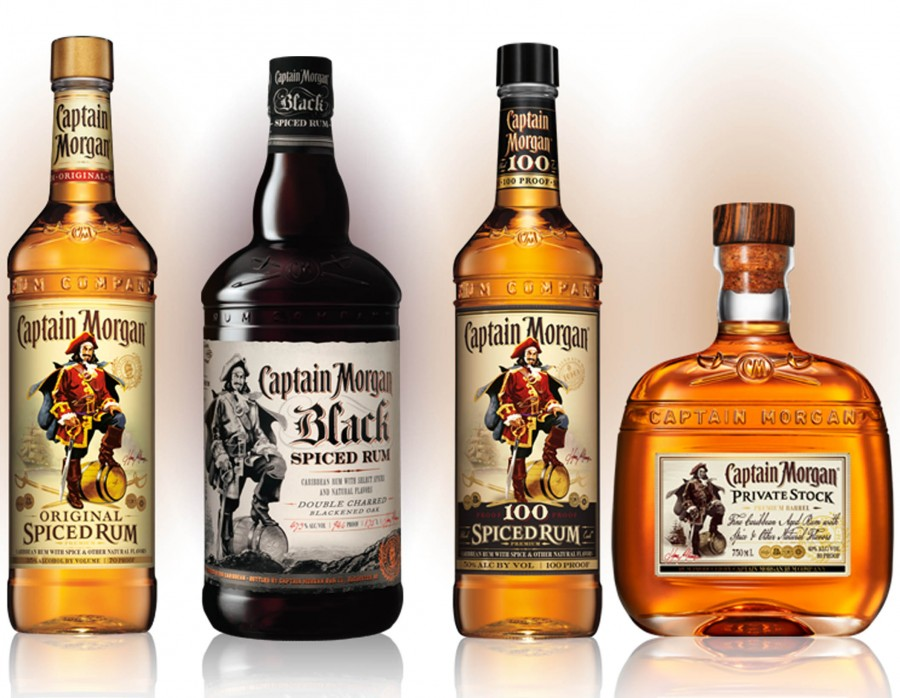 Do you know the story of captain morgan latf usa for Mix spiced rum with