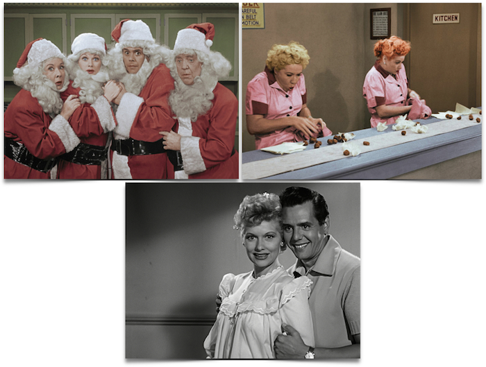 i love lucy christmas special cbs - I Love Lucy Christmas Special