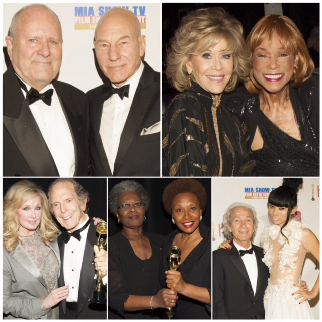 Hollywood Beauty Awards, Michael Westmore, Patrick Stewart, Jane Fonda