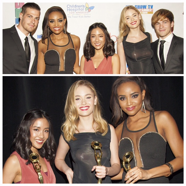Hollywood Beauty Awards, Greg Finley, Virginia Gardner, Meagan Tandy,