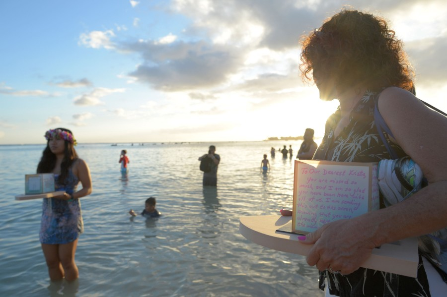 hawaii s lantern floating ceremony is the largest memorial day