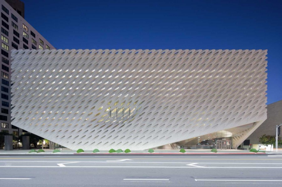 The Broad museum- Photo by Iwan Baan