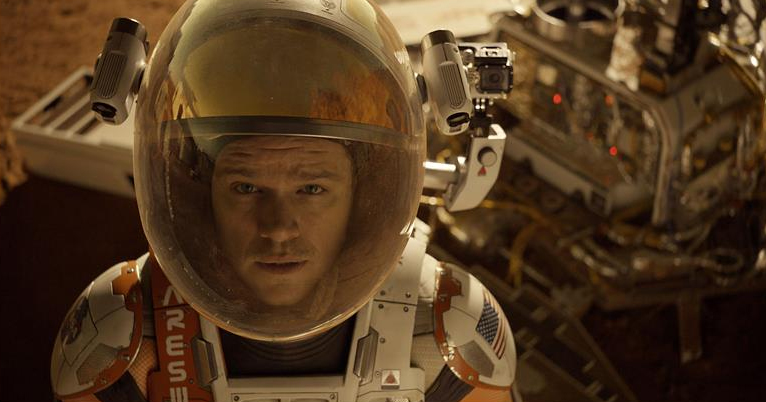 'The Martian' movie review by Lucas Mirabella
