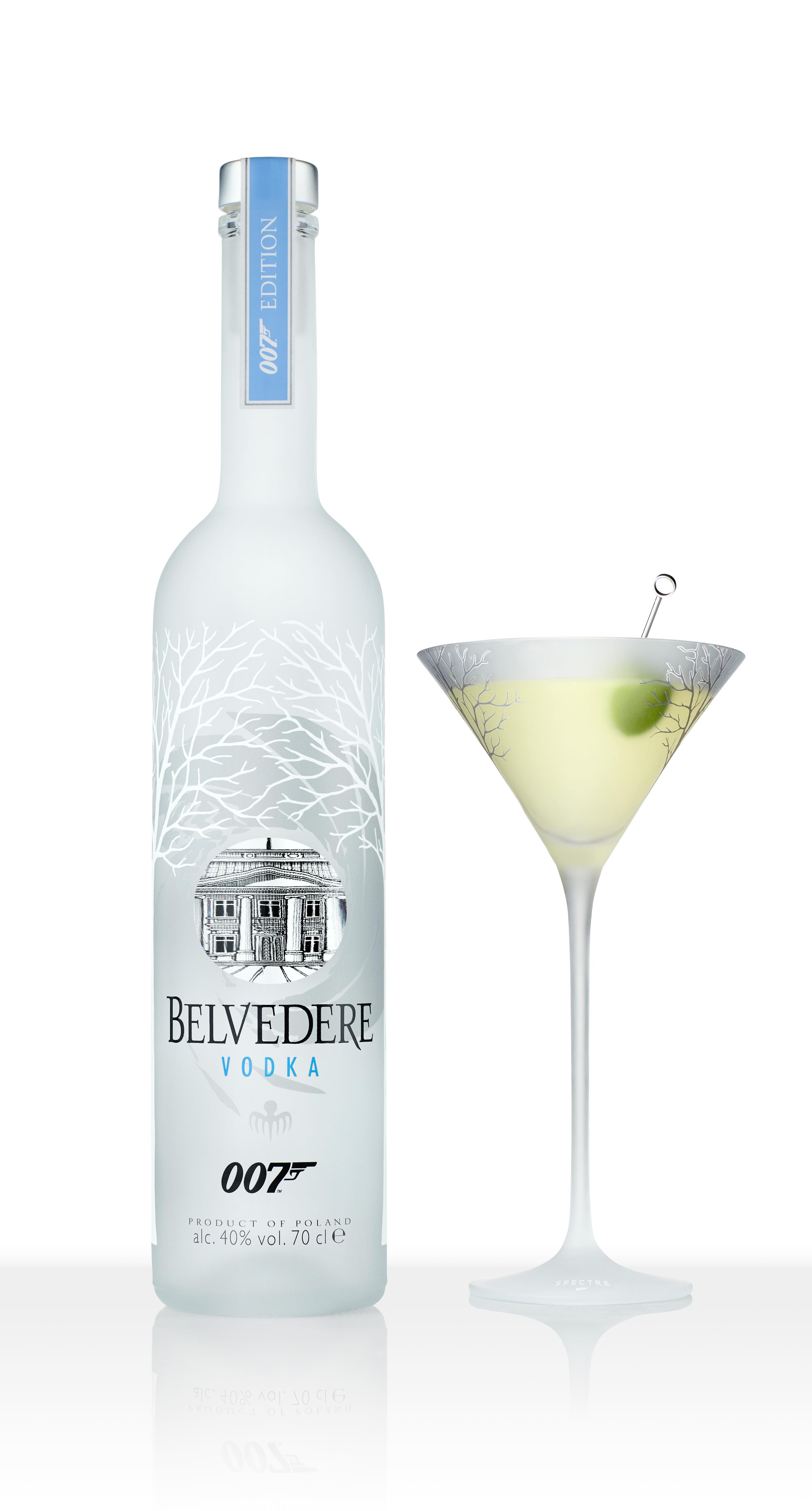 Martini Recipes Vodka Shaken Not Stirred39 Your Very Own Belvedere 39spectre39 007