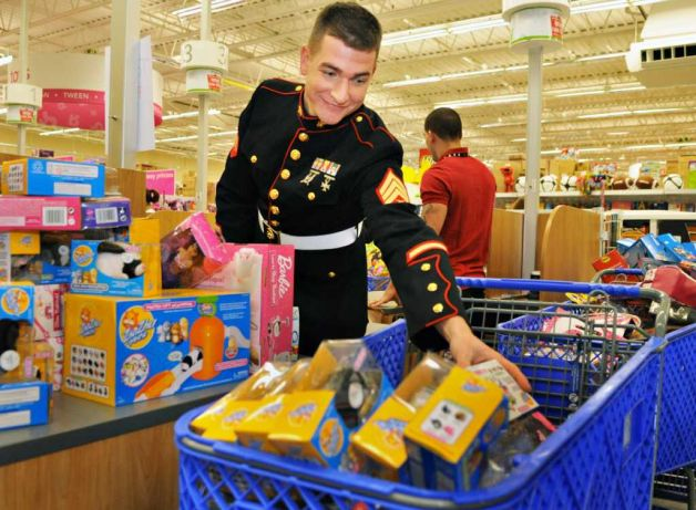 Toys For Tots Foundation Headquarters : Toys quot r us raises million for marine tots