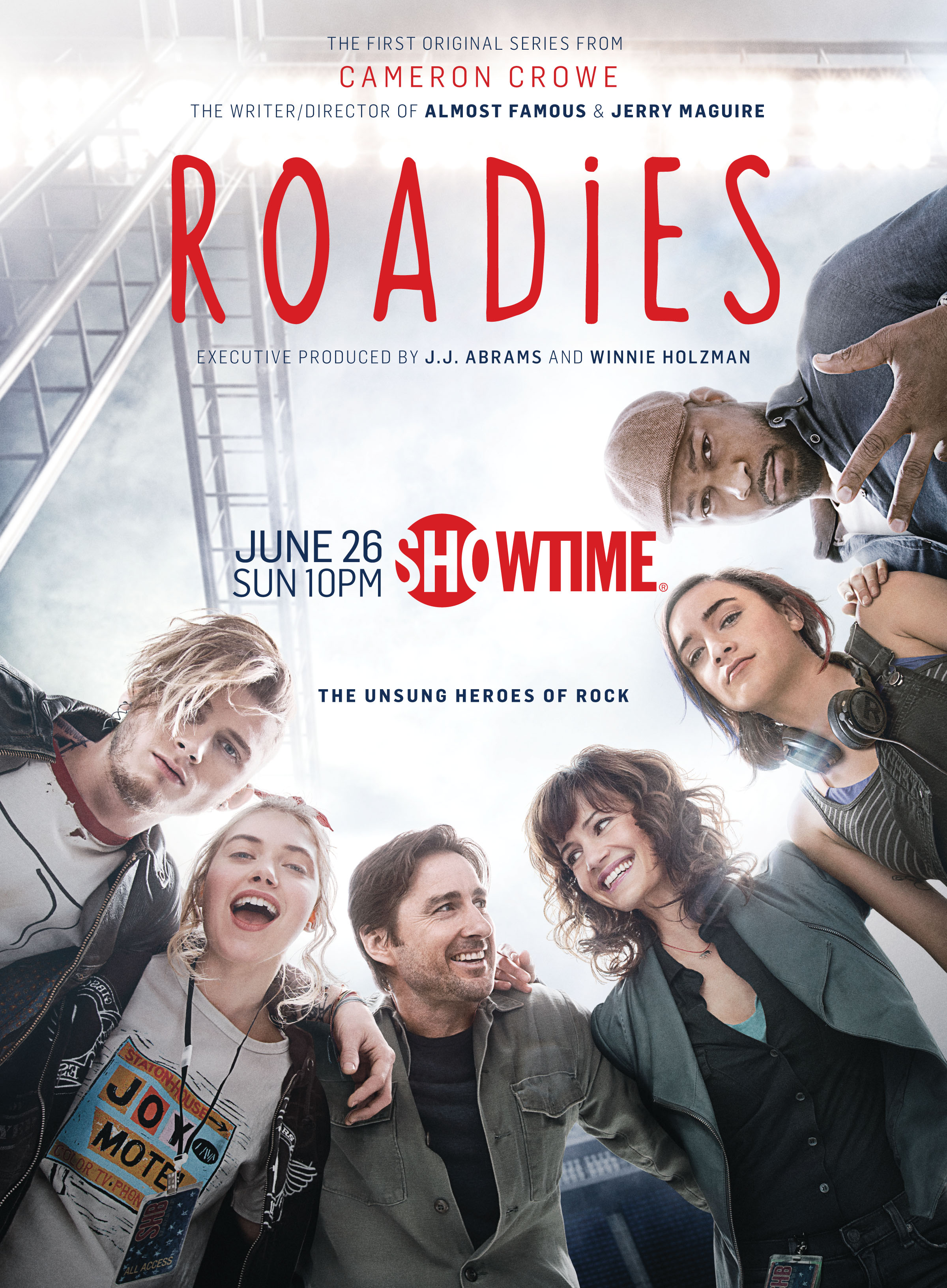 Showtime Reveals Poster For Cameron Crowe S Roadies