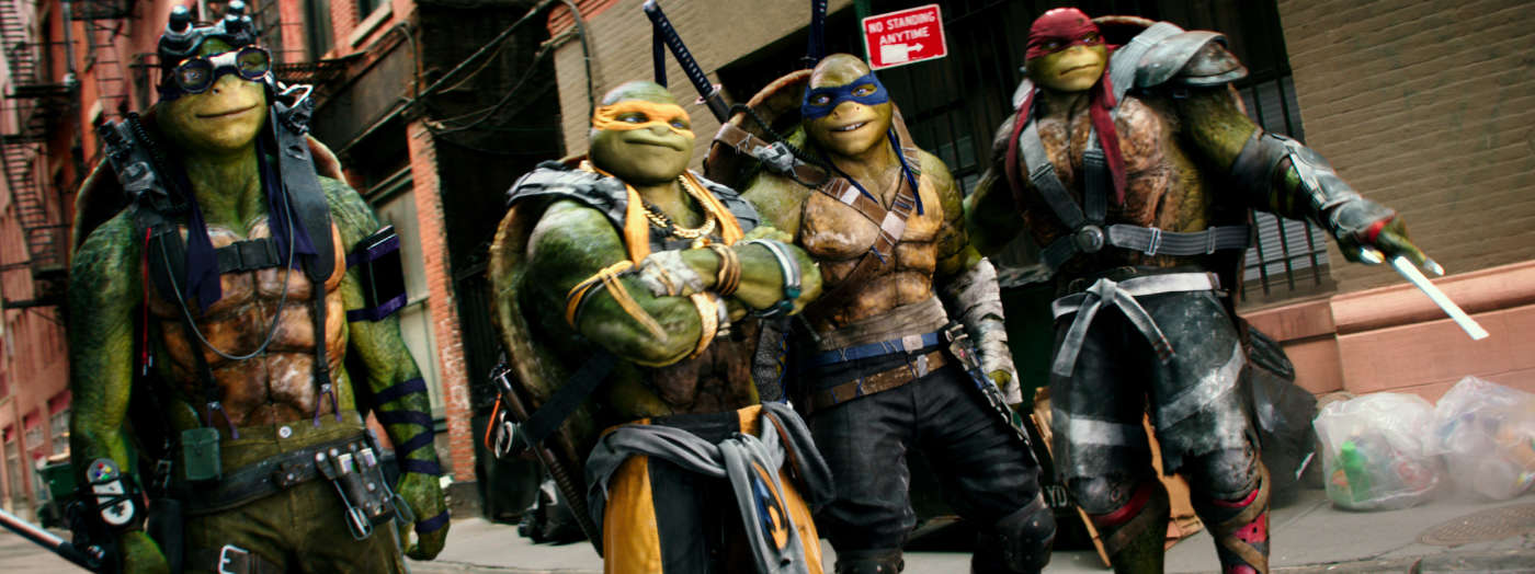 TMNT: Out Of The Shadows movie review by, David Morris
