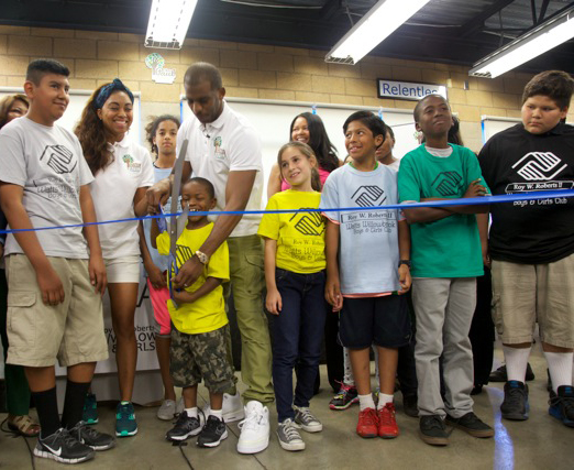 Chris Paul Ribbon Cutting