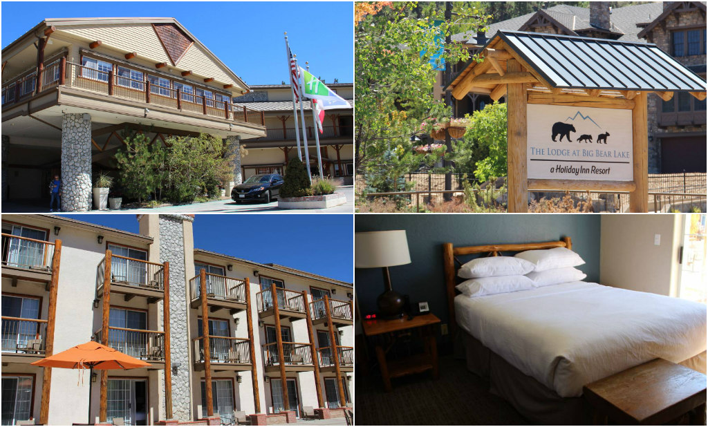The lodge at big bear lake, holiday inn