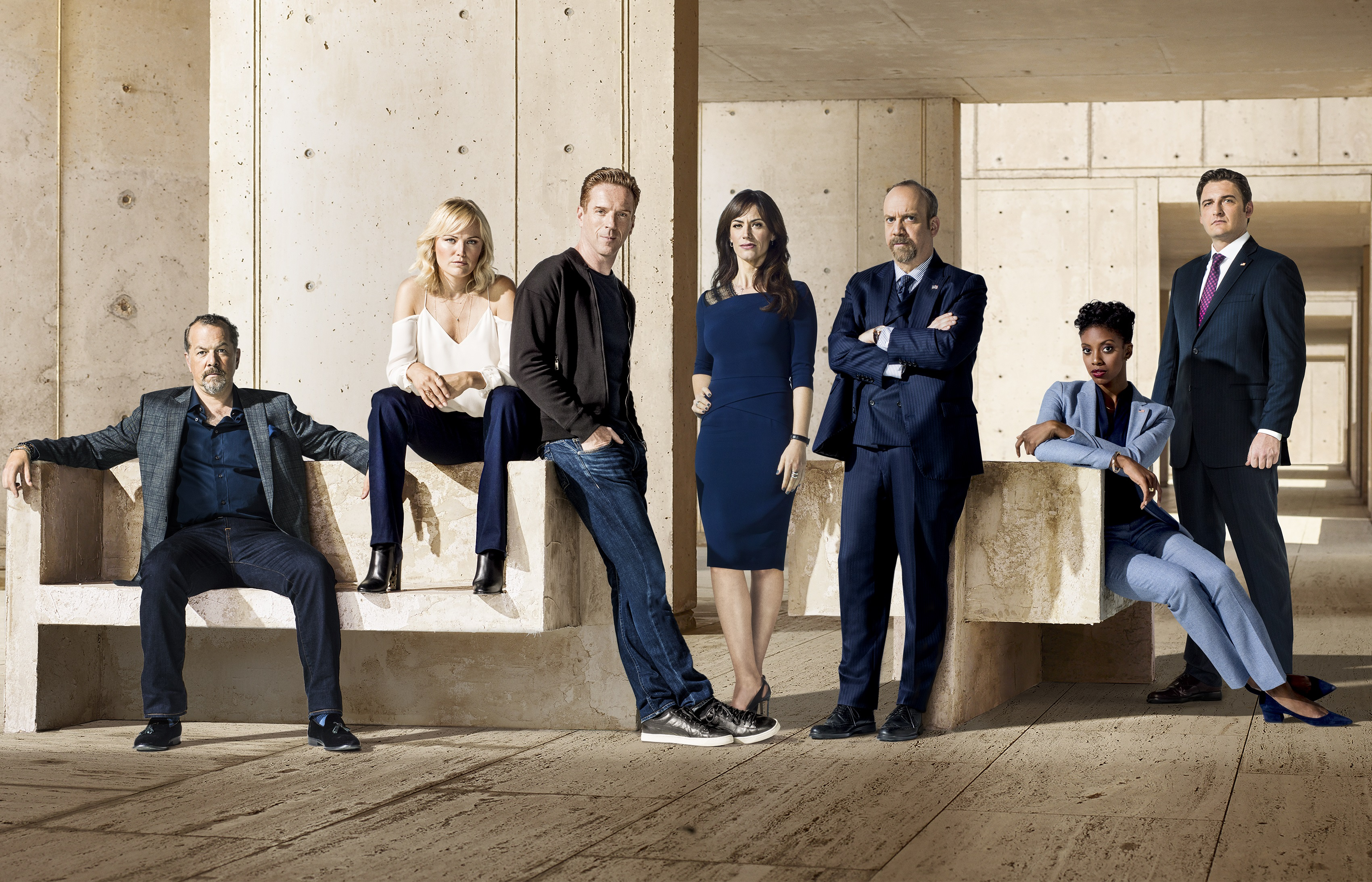 billions season two first look cast photo latf usa billions first look season 2 showtime