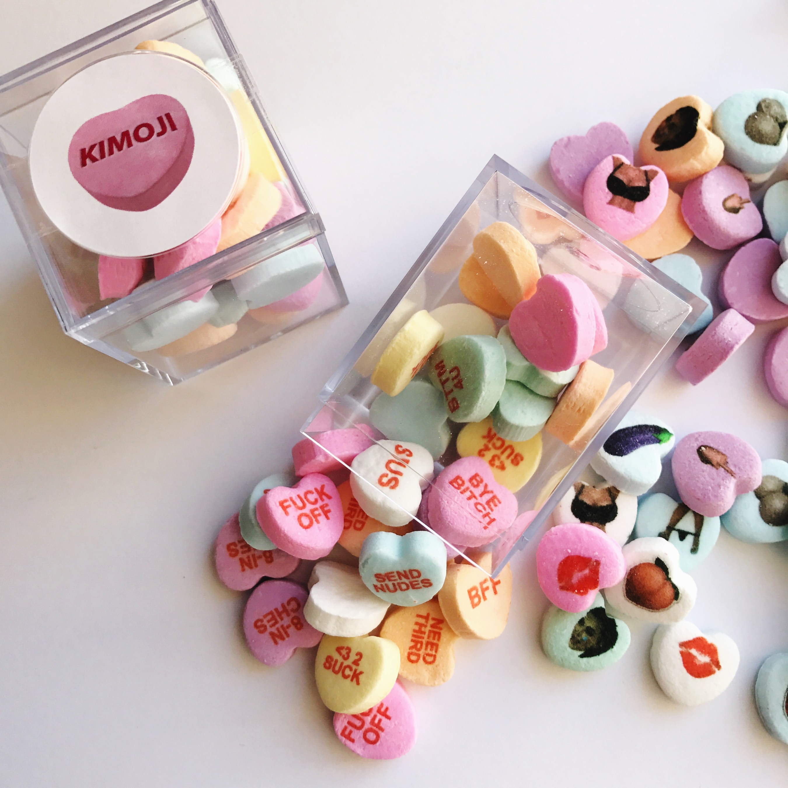 Candy Hearts Custom