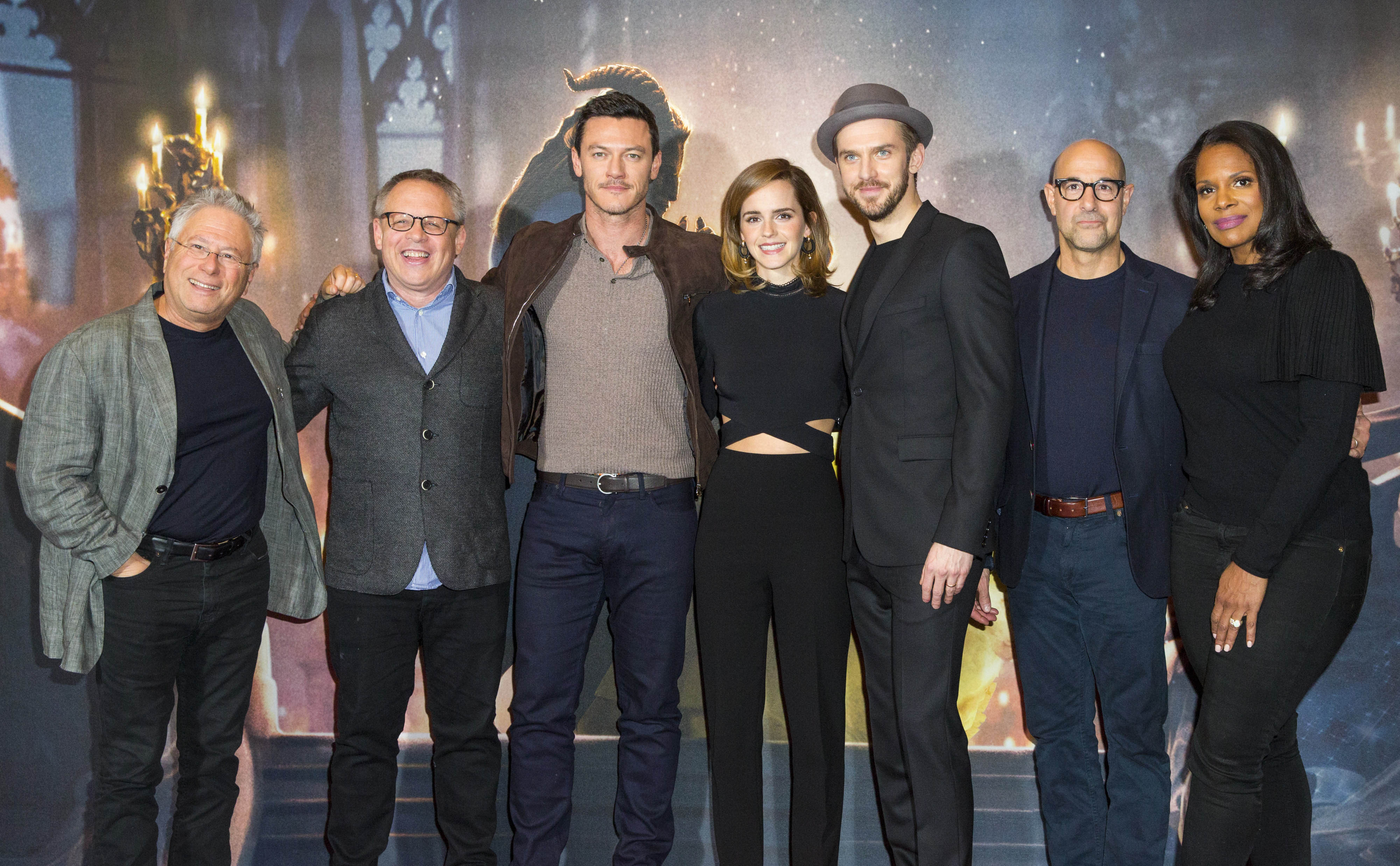 Beauty And The Beast Cast Takes On London Screening Latf Usa
