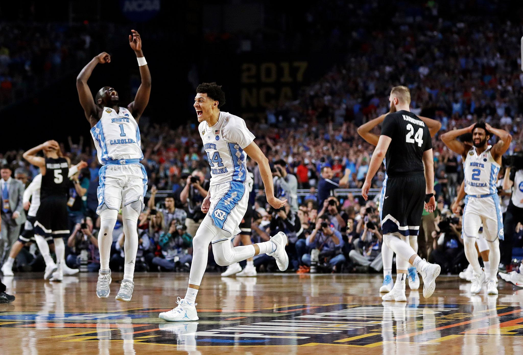 Resultado de imagen de unc basketball champions