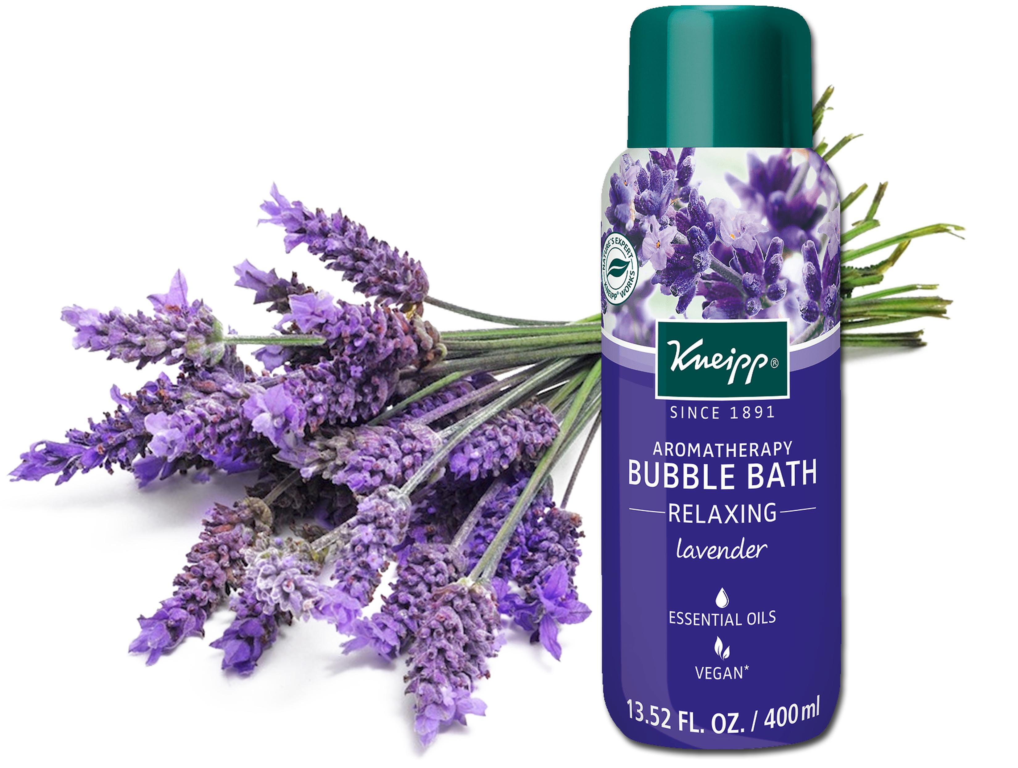 kneipp lavender bubble bath