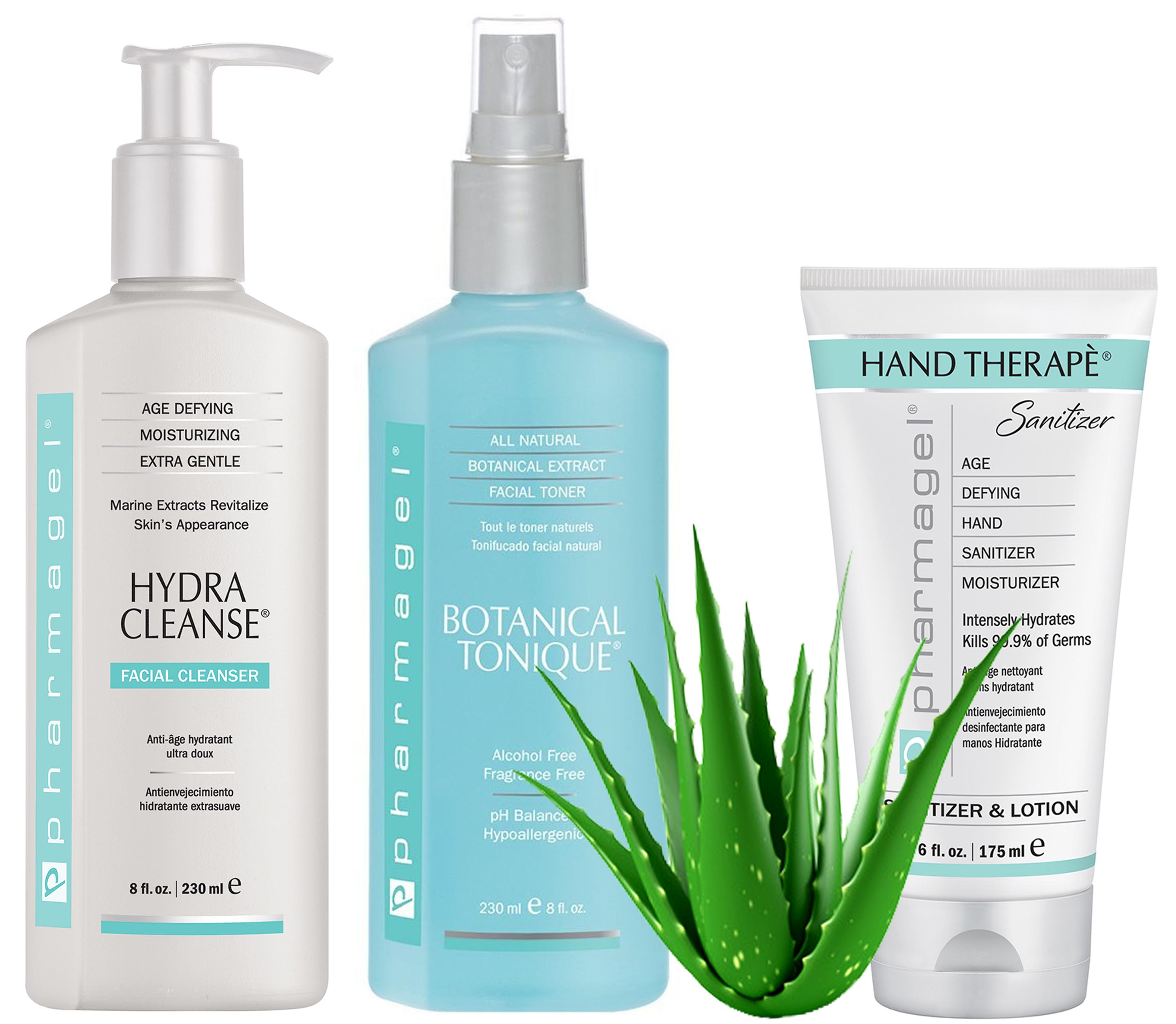 pharmagel botanical tonique, hydra cleanse