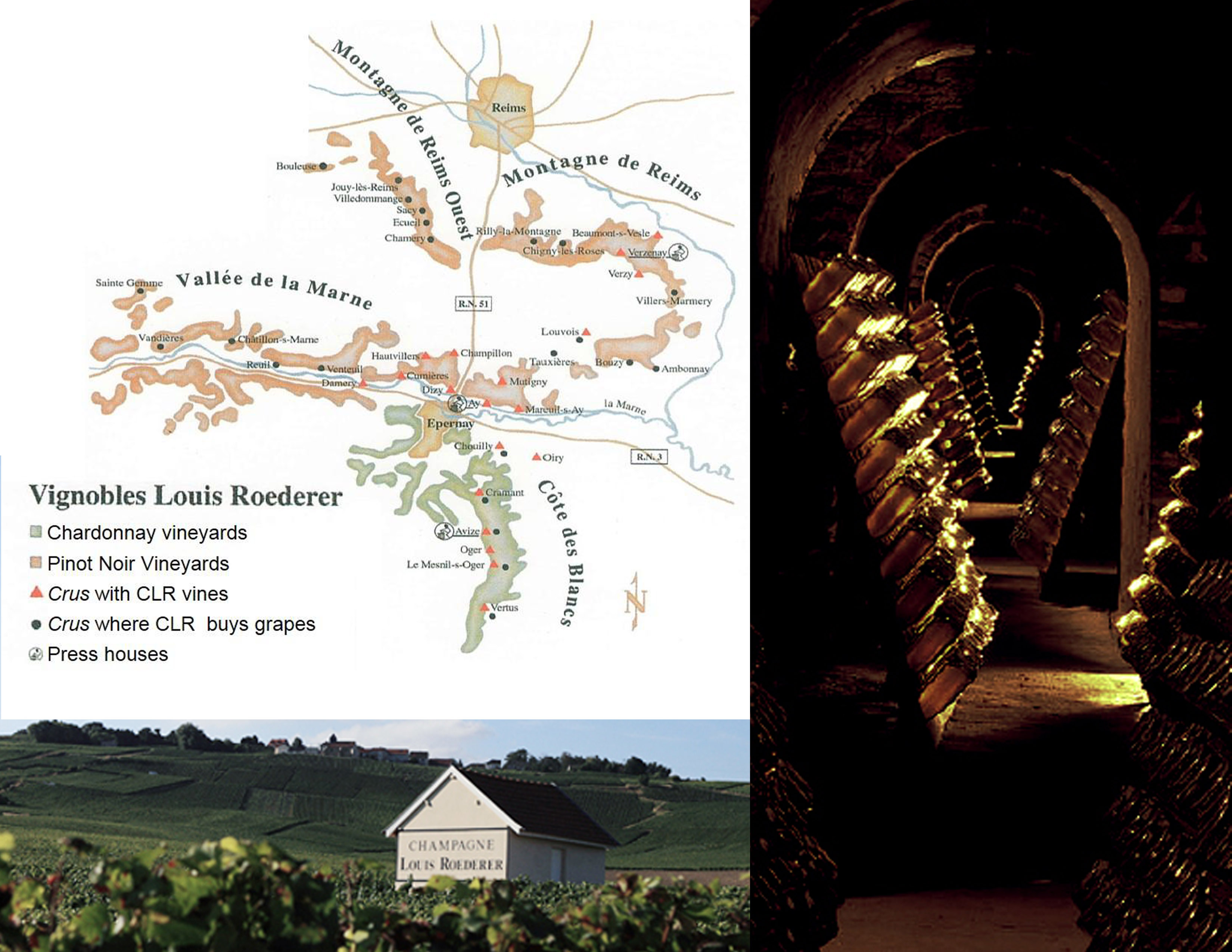 Champagne Louis Roederer Map