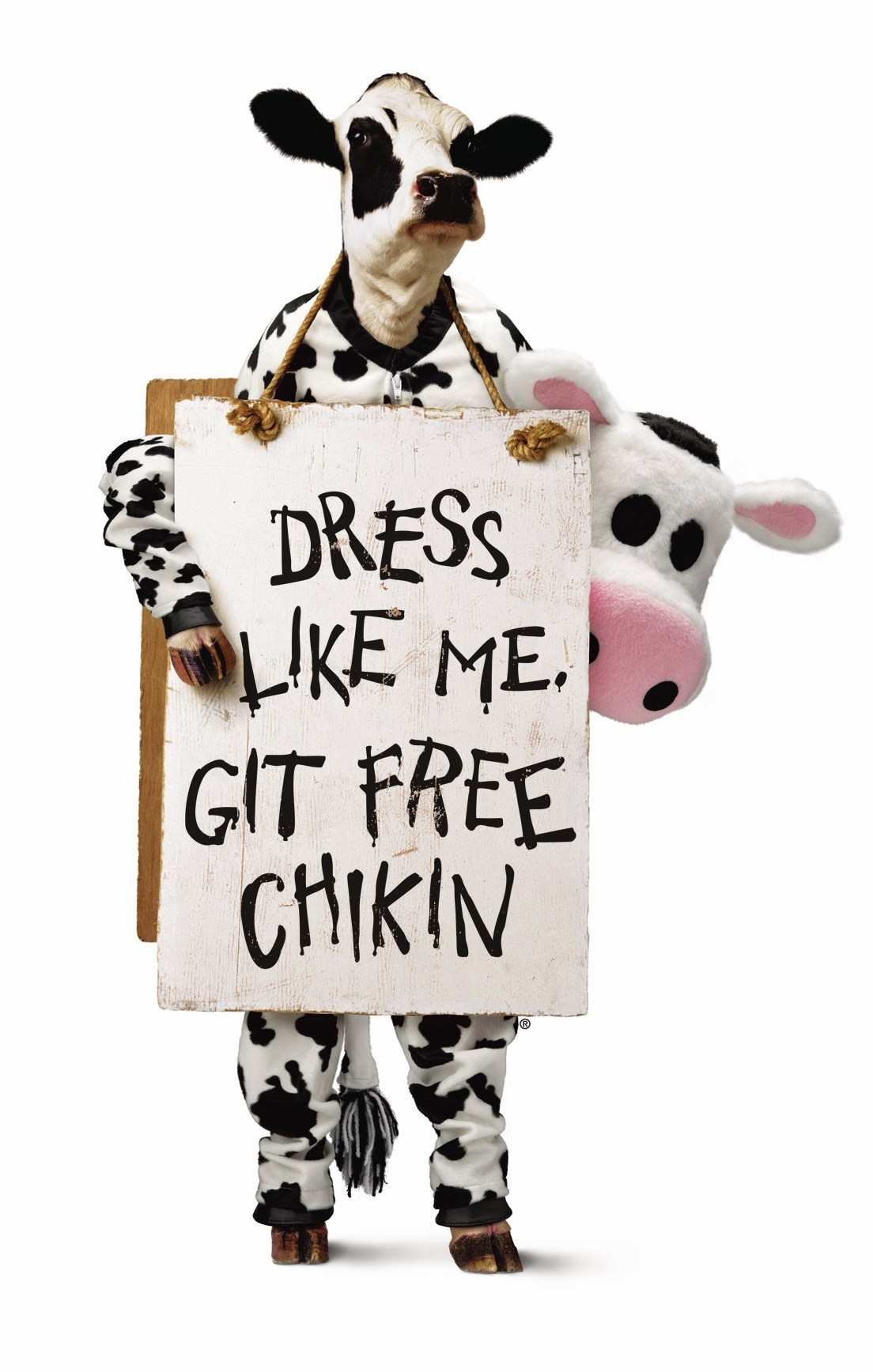 Chick-Fil-A Cow Costume