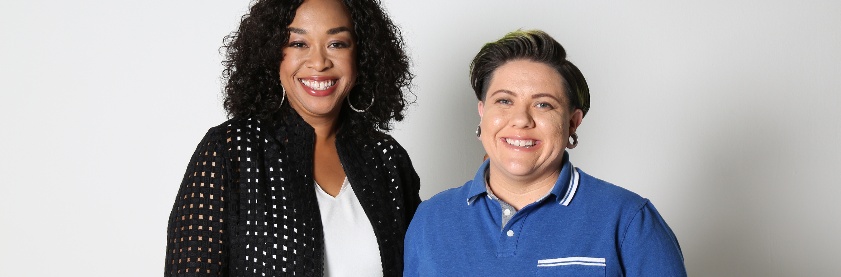 Shonda Rhimes and Kylee Howell