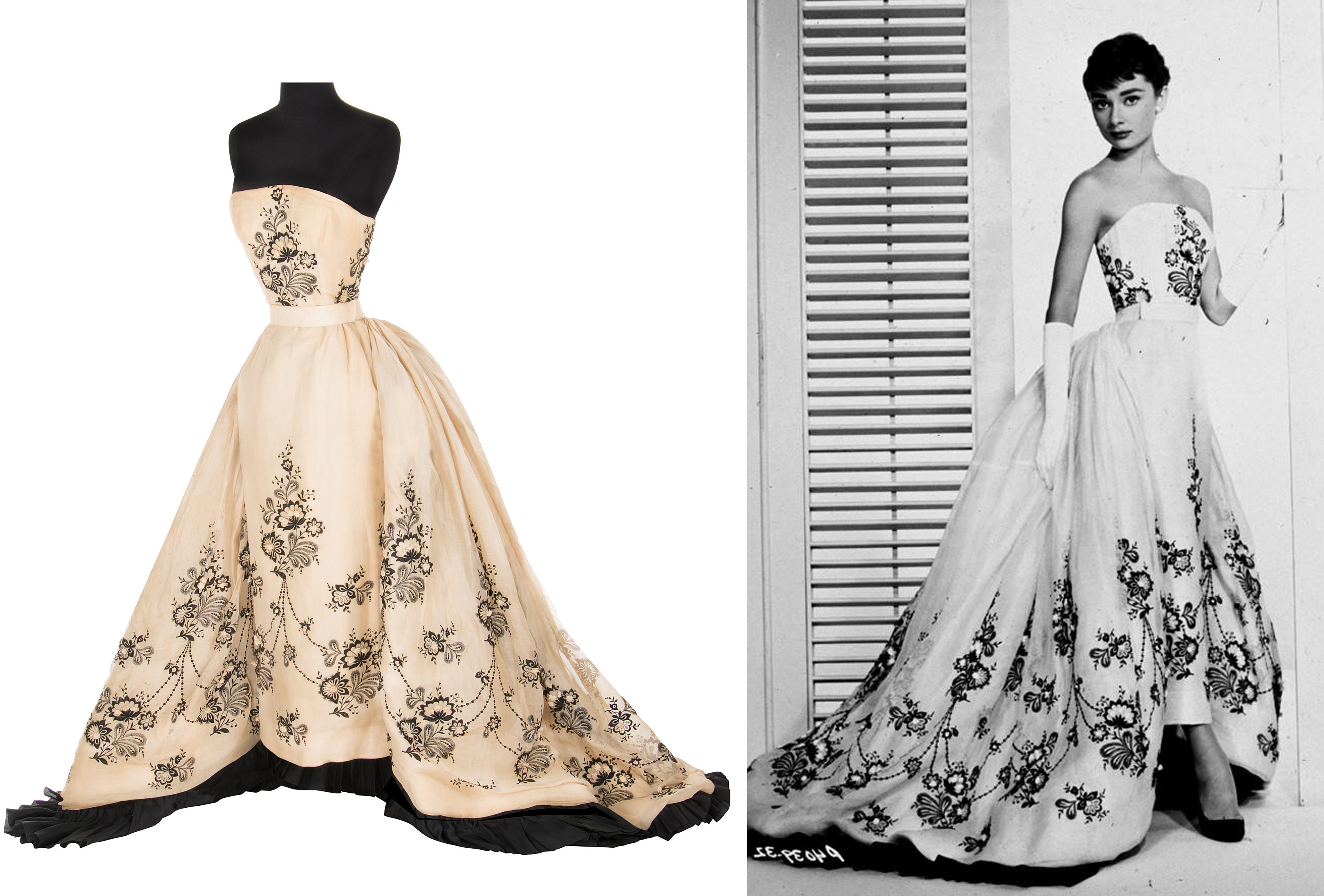 You Could Own Audrey Hepburn\'s Couture Gown From \