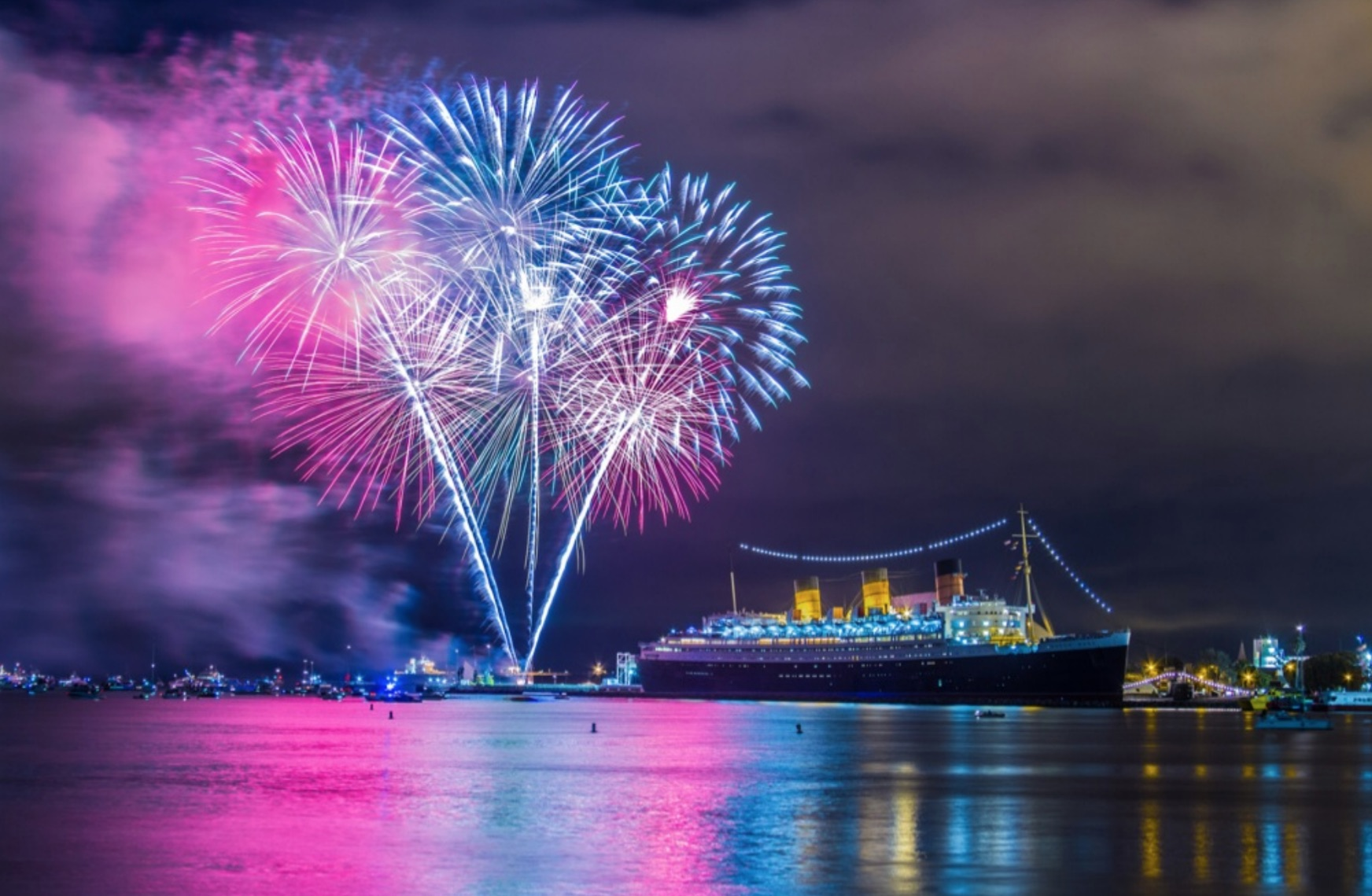 queen Mary, New Years eve 2018