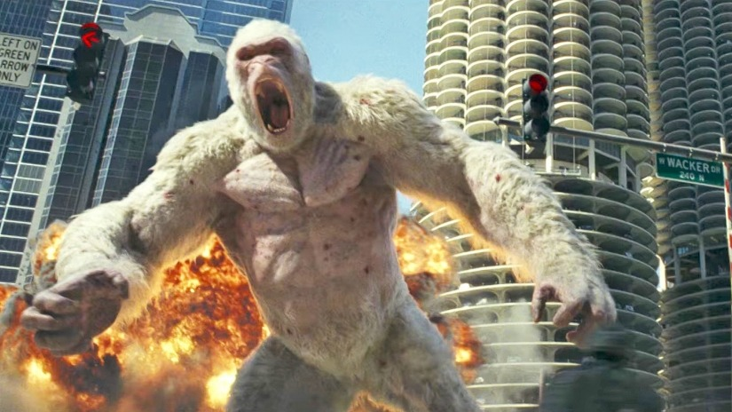 Rampage box office