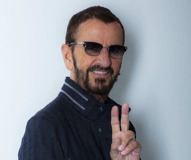 Ringo Starr, peace & Love birthday