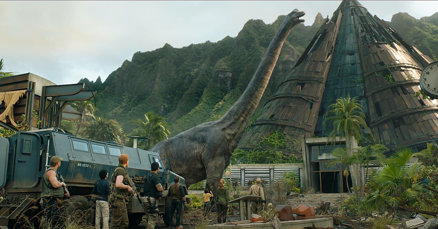jurassic world: fallen kingdom, movie reviews, lucas mirabella