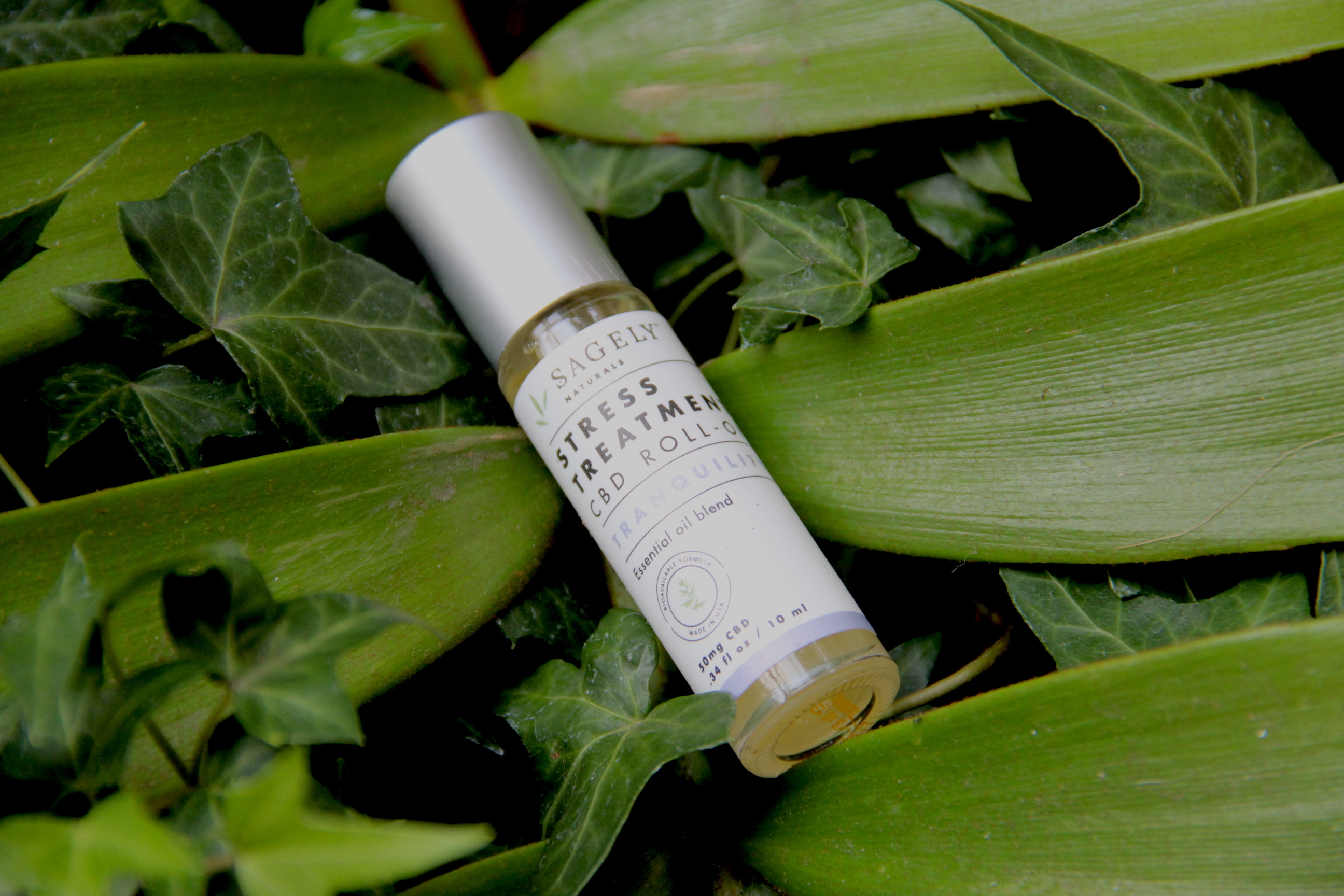 cbd oil roll on, sagely naturals